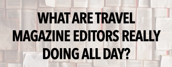 What is the work of magazine editor?